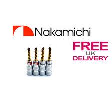 4x Qualità 24k Gold Nakamichi BFA BANANA Spine ** UK **
