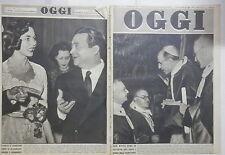 OGGI 18 Gennaio 1948 Sacra Rota Aldo Fabrizi e Jennifer Jones Rank De Gasperi di