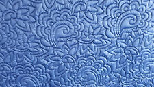 Whole Cloth Quilt / Comforter - Indigo Blue 100% Cotton Sateen - 320 T/C Luxury