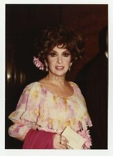 Gina Lollobrigida - Vintage Candid by Peter Warrack - Previously Unpublished