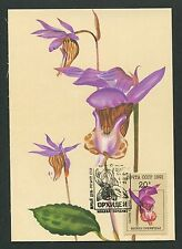 RUSSIA MK 1991 ORCHIDEEN ORCHIDEE ORCHIDS MAXIMUMKARTE MAXIMUM CARD MC CM m189