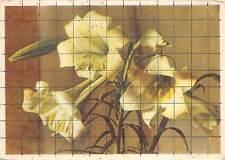 B75131 latvijas valsts izdevnieciba riga red flowers fleur