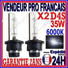 2 AMPOULES D4S AU XENON 35W KIT HID 12V LAMPE RECHANGE D ORIGINE FEU PHARE 6000K