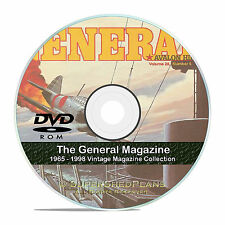 The General Magazine, Avalon Hill, All 200 Wargame Back Issues on DVD CD V39