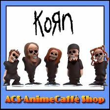 STRONGHOLD Korn Mini Action Figure DEADMEN set di 5 Ozzy Iron Maiden Metal NEW!!