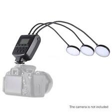 ML-3D LED Macro Flash Speedlite GN31 5500K for Canon Nikon DSLR Camera C7F0
