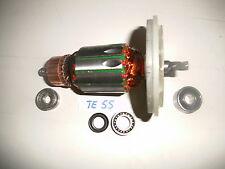 Hilti TE 55 Rotor, Anker+beide Lagern und Lager + Wellendichtring Getriebe !!!!