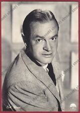 BOB HOPE 05 ATTORE ACTOR CINEMA MOVIE CANTANTE SINGER STAR NBC Cartolina FOTOG.