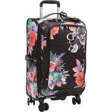 Guess Fortuna Collection 20-Inch Carry-On Spinner Upright Suitcase