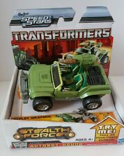 Transformers Stealth Force Autobot Hound Hasbro Speed Stars NEW