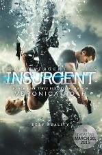 Insurgent Movie Tie-in Ed. Divergent Series Veronica Roth Signed FREE SHIPPING!