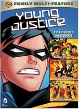 Young Justice TV Series Complete Season 1 Vol. 1-3 DVD NEW!