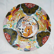 Chinese Porcelain Plate - Phoenix and Garden Scenes - Beautiful Piece