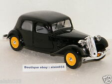 "CITROËN TRACTION 11 LEGERE BERLINE NOIRE ELIGOR 1/20 Ref 160016 ""MADE IN FRANCE"""