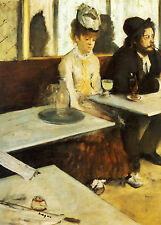 A3 - EDGAR DEGAS L'ABSINTHE - FAMOUS PAINTERS CLASSIC PAINTINGS Posters #4