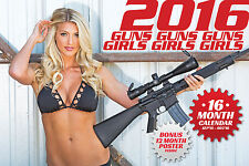 2016 GUNS AND GIRLS CALENDAR