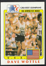 Topps 1983 Greatest Olympians - Card No 44 - 800 Metre Runner Dave Wottle - USA