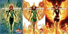 JEAN GREY 1 J SCOTT CAMPBELL A B C DARK PHOENIX VARIANT SET NM PRE-SALE 5/3
