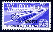 TRIESTE A - 1953  MILLE MIGLIA   NUOVO **