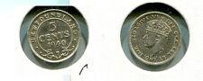 1940 C Newfoundland Silver .05 Coin Au 5955G
