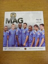 20/07/2011 notts county v peterborough united [friendly] & 23/07/2011 wolverhamp