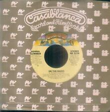 "7"" Donna Summer/On The Radio (USA) Industriecover"