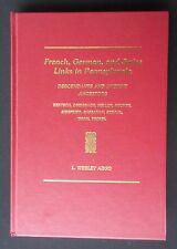 'French, German, and Swiss Links in Pennsylvania' by L Wesley Argo, Gateway 1998