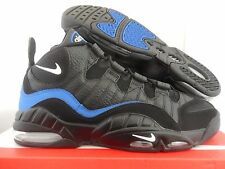 "NIKE AIR MAX SENSATION ""CHRIS WEBBER"" BLACK-WHT-ROYAL BLUE SZ 9.5 [805897-002]"