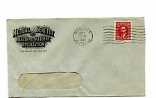 Mutual Benefit Healt Accident front & back advdertising 1942 Canada cover