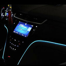 Universal LED Cold Light Car Interior Atmosphere Ice Blue Clip-on Light Strip