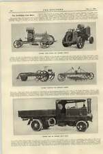1920 Mclarens Motor Tractor Cultivator Ransomes Steam Wagon