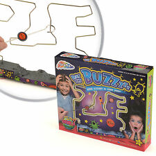 Beat The Buzz Wire Buzzer Steady Hand Electronic Board Family Game Toy 16-6614