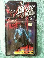 "DEVILMAN blue skin 2nd Edition  marmit 7"" figure"