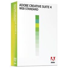 Brand New Adobe Creative Suite 4 Web Standard Upgrade [Mac] (Spanish)
