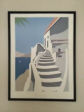 Naxos - 60x80cm frame, vintage travel poster , holiday posters, holiday wall art