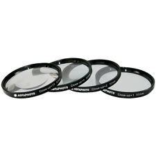 AGFA 52mm 4-Piece Close-Up Macro Multi Coated Filter Kit (+1+2+4+10)