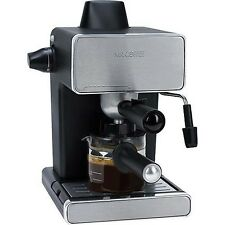 Mr. Coffee BVMC-ECM260 Steam Espresso Machine, Stainless Steel and Black