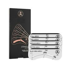 New Brow Master Eyebrow Stencil Kit Shaping Defining - 5 Arch Make Up Template