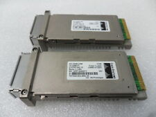 Lot of 2 Genuine Cisco X2-10GB-LRM Transceiver Module