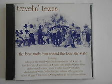 TRAVELIN' TEXAS (SHAKE RUSSELL) : BEST MUSIC FROM THE LONE STAR STATE - CD RARE