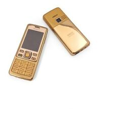 New Condition Nokia Brand 6300 Gold Unlocked Camera Bluetooth Mobile Phone