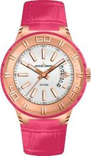 Jacques LeMans Miami Pink Watch