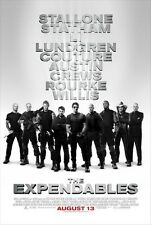 "THE EXPENDABLES - 27""x40"" D/S Original Movie Poster One Sheet Stallone Statham"