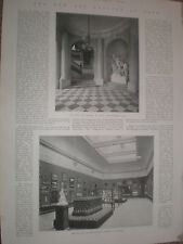 Photo article the new Victoria art gallery at Bath 1900