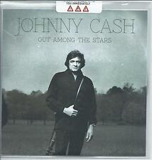JOHNNY CASH Out Among The Stars UK 12-trk numbered promo test CD sealed