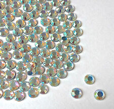 Cristal AB Mix bolsa de tamaño hotfix/iron on/glue sobre Rhinestone 2,3,4,5,6,7 mm