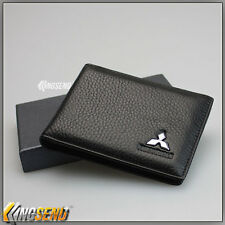 MITSUBISHI Genuine Leather Driver's License Holder Car Driving Credit Card Case