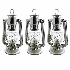 Traditional Hurricane Paraffin Oil Lantern Lamp Camping Storm Light Outdoor