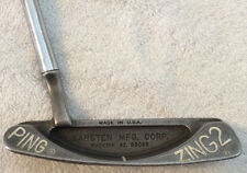 """Ping Zing Putter Karsten Zing 2 Used Good Shape Golf Club Made in USA Approx 32"""""""