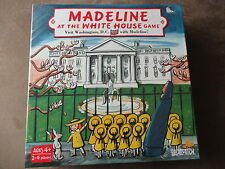 Madeline At The White House Game-New In Package-For 2-4 Players/Ages 4+